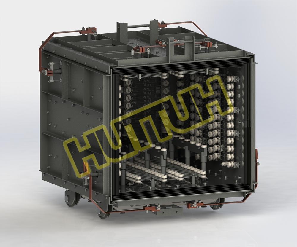 Цельнометаллический нагревательный модуль_